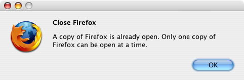 Firefox close dialogue