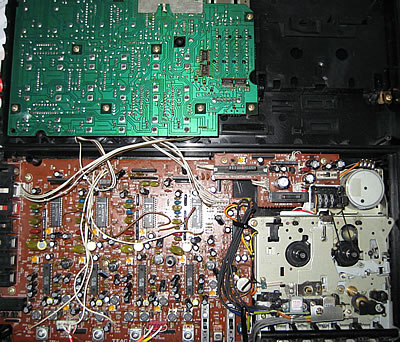 Inside the Tascam Porta 05