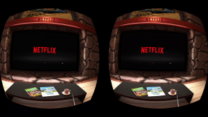 OculusGo Netflix screen shot