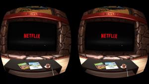 OculusGo Netflix screen shot